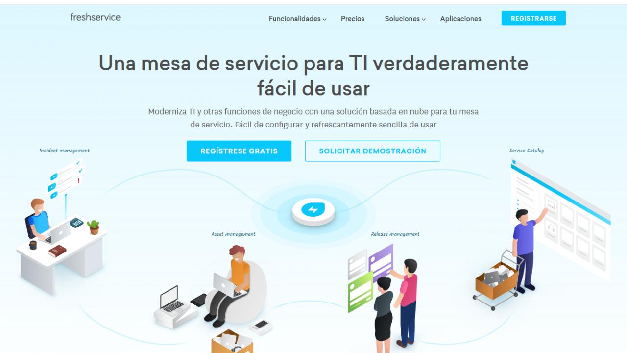Website Screenshot FreshService