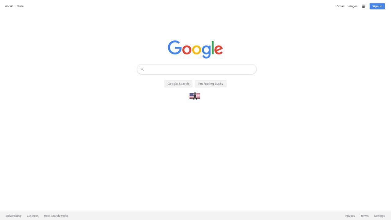 Website Screenshot Google