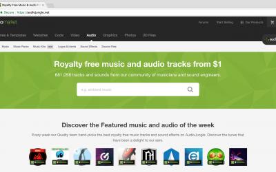 Envato Audio (music tracks)