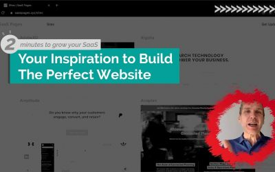 Inspiration To Build Your Perfect SaaS Website
