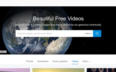 Pixabay (free stock video & photos)